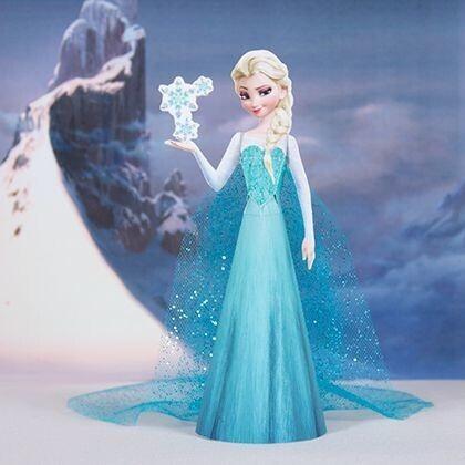 Elsa Reine des neiges printable
