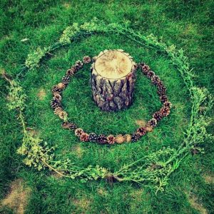 Land art cercles