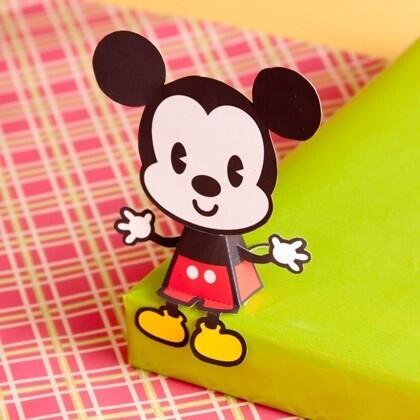 Mickey cutie à imprimer