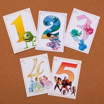 chiffres Disney printable
