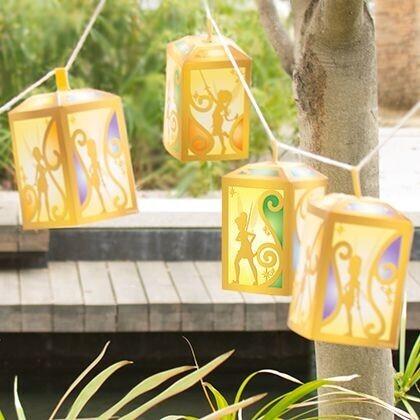 lanterne fées pirates printable