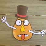 Mr patate à imprimer