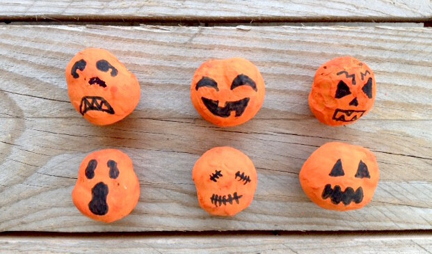 diy Halloween marron citrouille