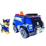 Paw-Patrol-Chase-et-sa-Voiture-de-Police-Figurine-et-Vhicule-0