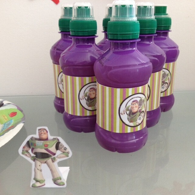 Boisson buzz l'éclair Toy Story