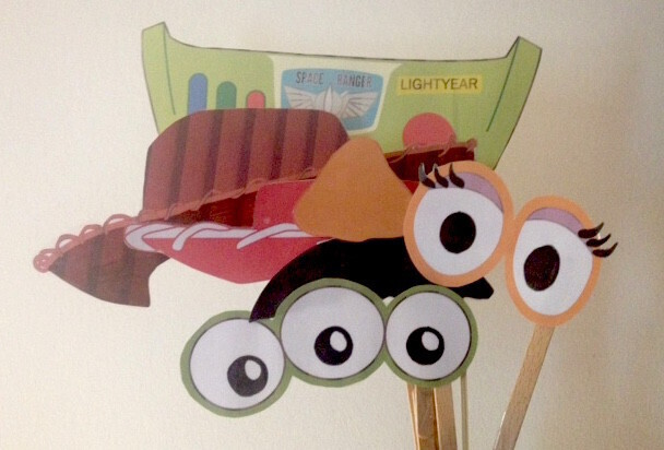 Photo booth Toy Story Party