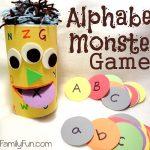 monstre qui mange l'alphabet