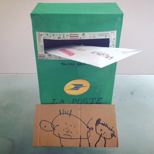 DIY boite aux lettres