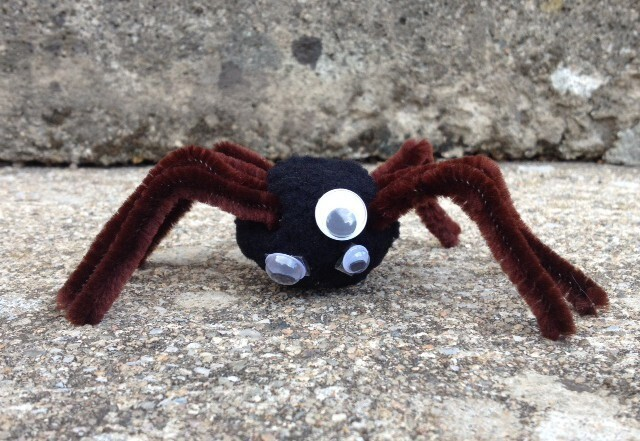 araignée pour halloween