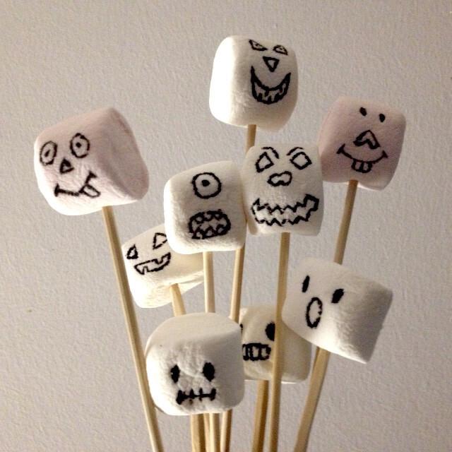 chamallows d'halloween