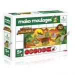 Dujardin-39018-Kit-De-Loisirs-Cratifs-Mako-Moulages-Dinosaures-6-Pices-0