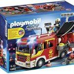 Playmobil-A1502702-Jeu-De-Construction-Fourgon-De-Pompiers-0