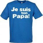 SR-Je-suis-ton-Papa-100-Coton-Bio-Hommes-T-Shirt-0