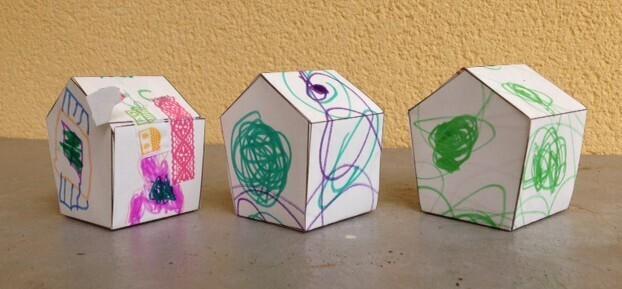 maisons de l'Avent des boys