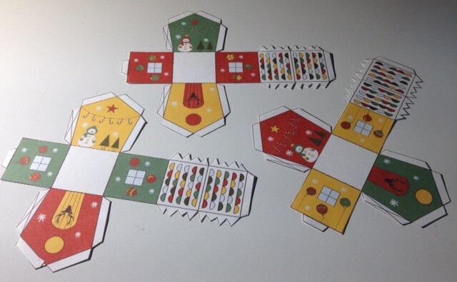 Petites maisons de l avent imprimer gratuitement un jour un jeu - Patron de maison en papier a imprimer ...