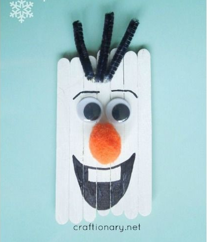 Popsicle Olaf et compagnie