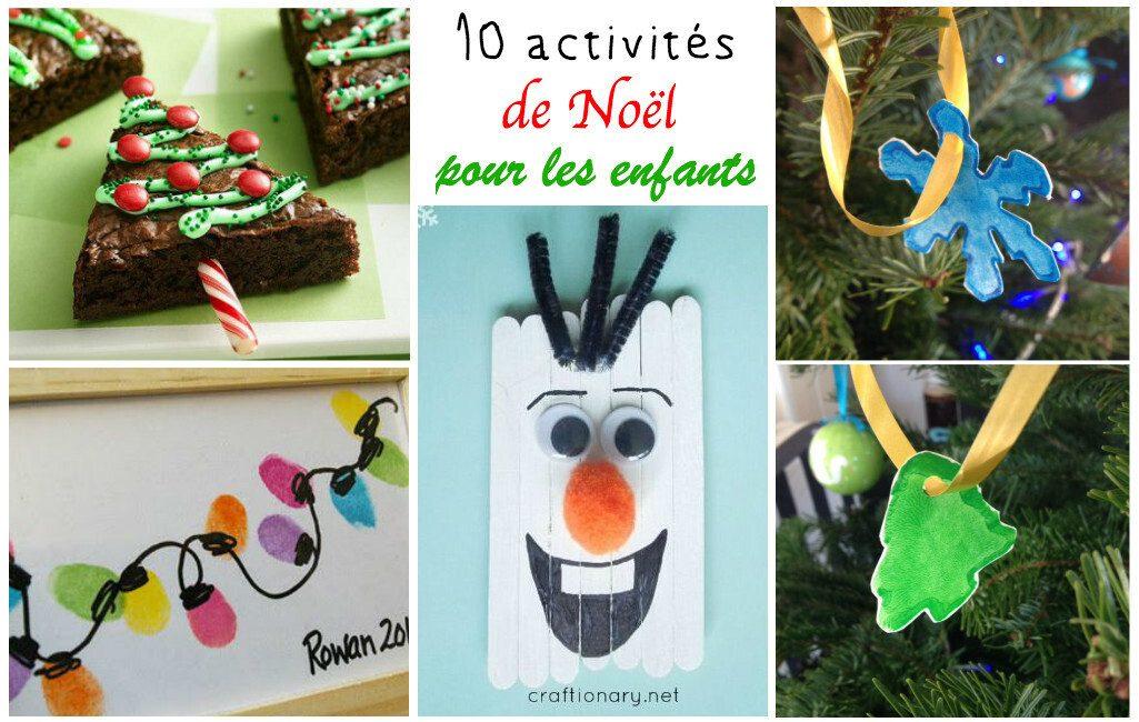 10 activités de NoËl