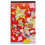 Grand-livre-dautocollants-pour-les-enfants-Plus-de-2000-Stickers-Beaucoup-de-dessins-formes-et-messages-Taille-244mm-x-147mm-0