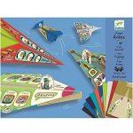 Pliage-papier-20-Avions-Origami-de-Djeco-avec-personnages-pour-enfants-0