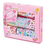 Tobar-Bote-de-1000-Stickers-Autocollants-de-Dcoration-pour-Fille-0