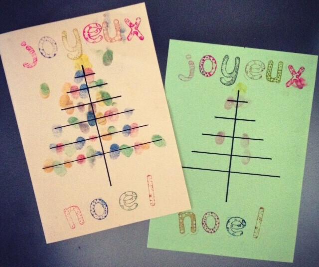 cadeau de Noel maitresse carte sapin