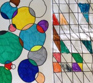 formes à colorier