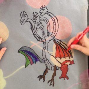 dragon James avec calque