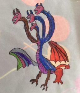 dragon calque terminé