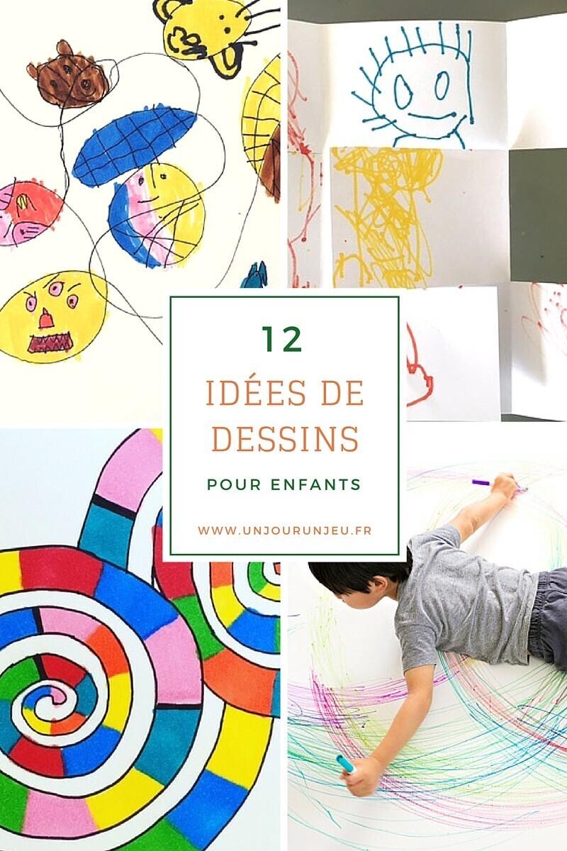 Idées de dessins pour enfants