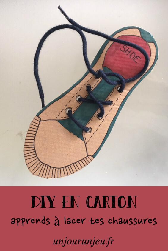 Apprendre à faire ses lacets DIY