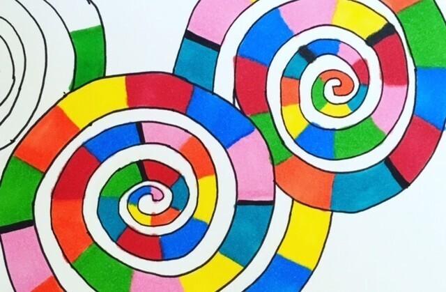 Coloriage graphique