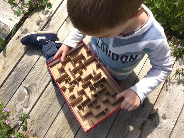 labyrinthe en action