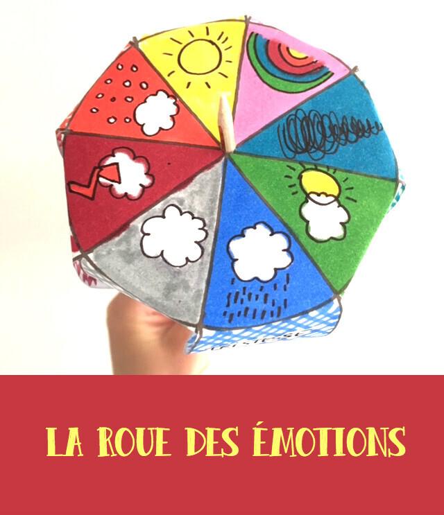 Roue des émotions pour enfants
