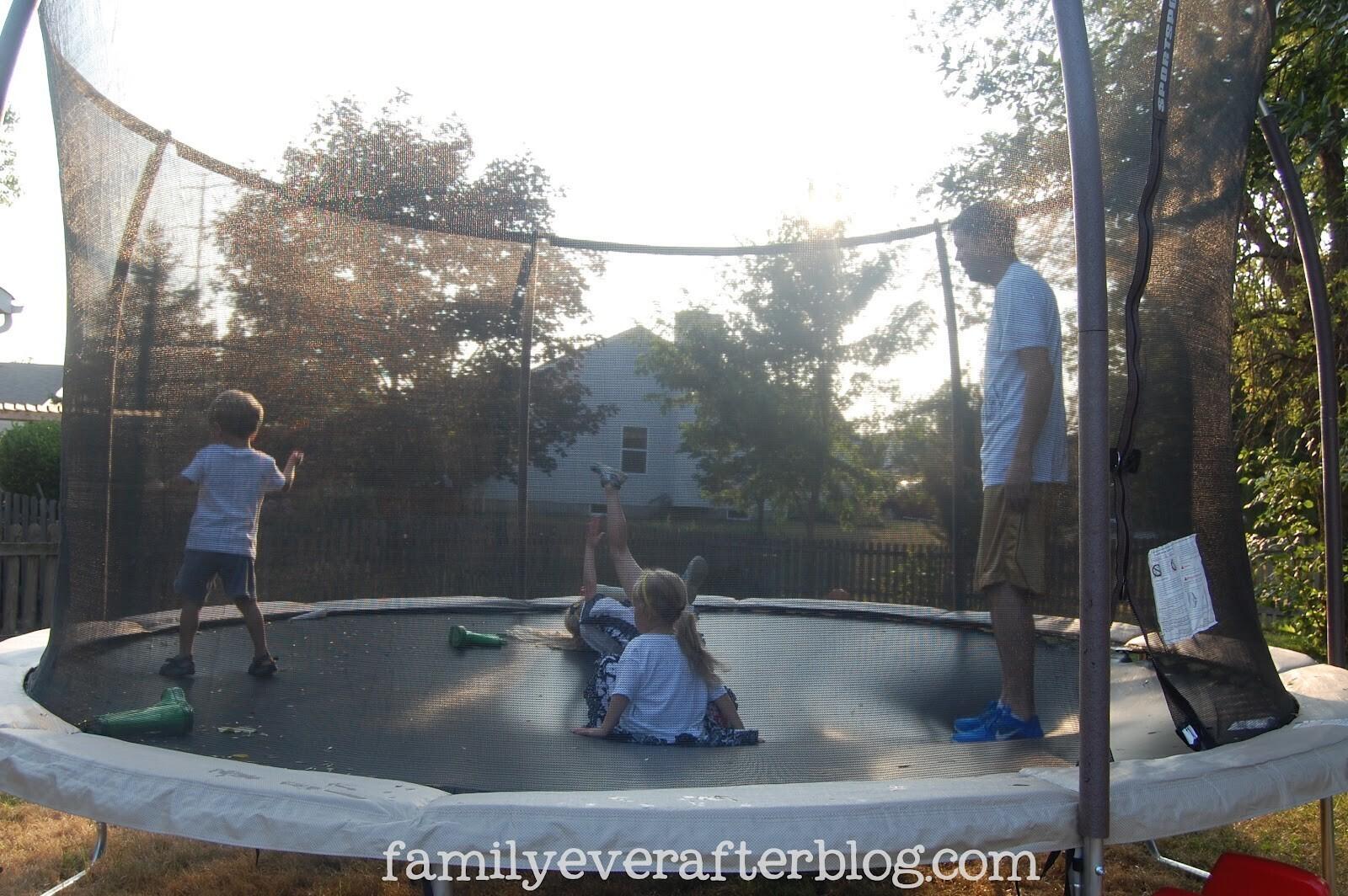 Jacques a dit trampoline