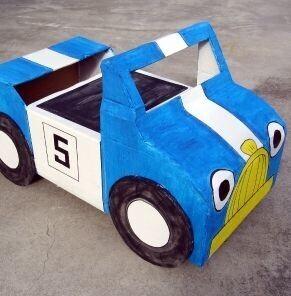 15 id es de jeux r aliser pour vos enfants avec du carton - Fabriquer une chaussure en carton ...