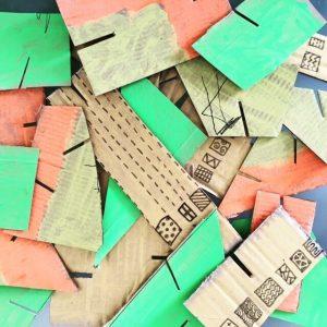 carton découpé