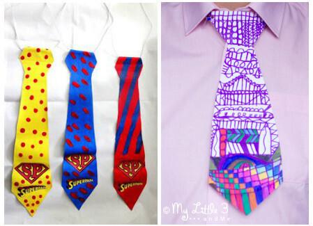 cravates fête des pères