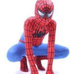 Deluxe-Enfants-et-Adulte-Super-Hero-Araigne-Rouge-et-Bleu-0