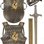 Knights-Armour-Set-Accessoires-en-Plastique-de-Chevaliers-5-Pices-Modle-Alatoire-0
