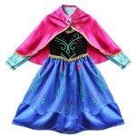 Tiaobug-Dguisement-Enfant-Reine-des-Neiges-Anna-2-8-ans-0