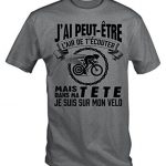 Jai-Peut-tre-Lair-De-Tcouter-Mais-Dans-Ma-Tete-Je-Suis-Sur-Mon-Velo-T-Shirt-0