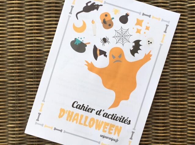 halloween carnet d'activités