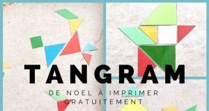 Tangram de noel