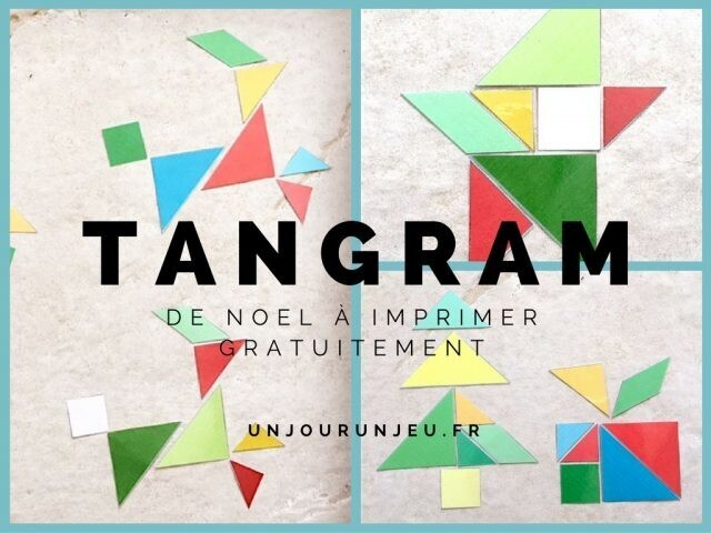 tangram noel