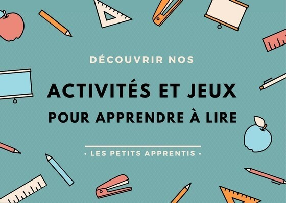 apprentissage lecture Montessori