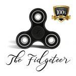 Fidgeteer-Fidget-Spinner-Jouet-EDC-Anxit-et-soulagement-du-stress-Roulements-en-cramique-Noir-0