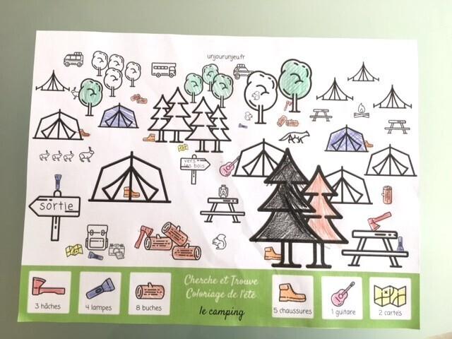 Cherche et Trouve le camping