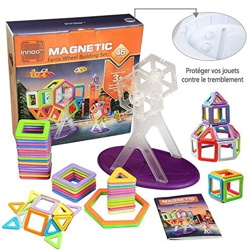 Innoo Tech Blocs de Construction Magnétiques - Jeux Construction d'exploration Aimanté | Enfants ...