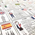 cartes de nomenclature des pays du monde