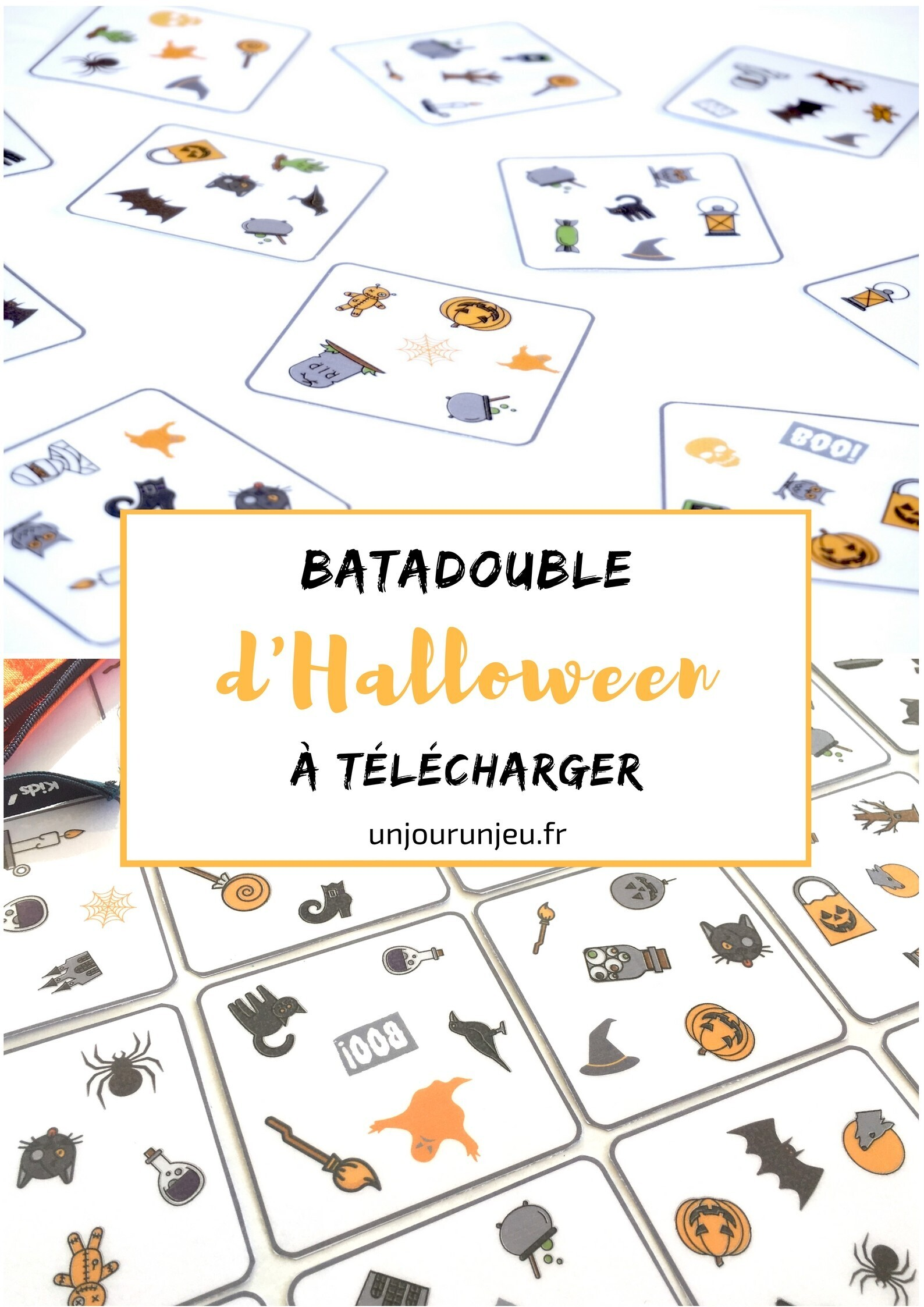 Jeu batadouble halloween